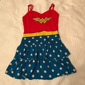Wonder Woman nightie pajama camisole dress